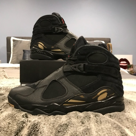 350879e854a254 Air Jordan 8 x OVO Black - Size 10